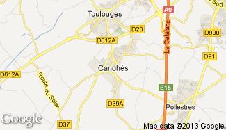 Plan de Canohès
