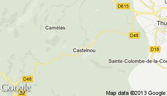 Plan de Castelnou