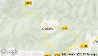 Plan de Corsavy