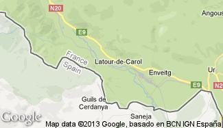 Plan de Latour-de-Carol