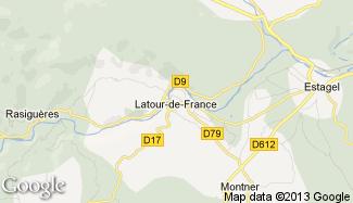 Plan de Latour-de-France