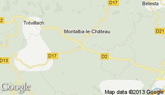 Plan de Montalba-le-Château
