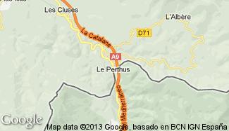 Plan de Le Perthus