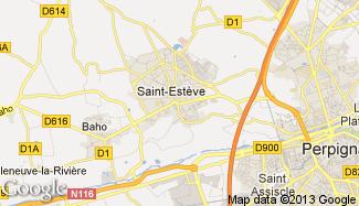 Plan de Saint-Estève