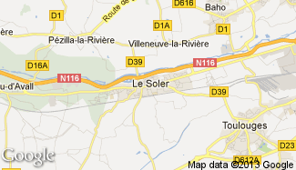 Plan de Le Soler