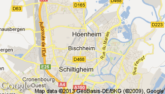 Plan de Bischheim