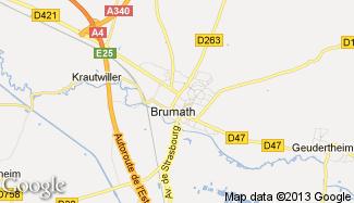 Plan de Brumath