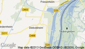 Plan de Diebolsheim