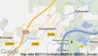 Plan de Drusenheim