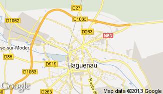 Plan de Haguenau