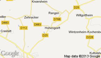 Plan de Hohengoeft