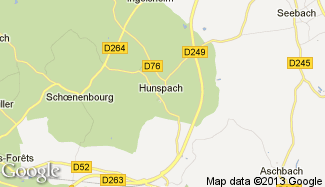 Plan de Hunspach