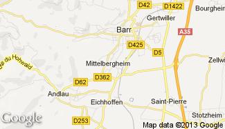 Plan de Mittelbergheim