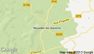 Plan de Neuwiller-lès-Saverne