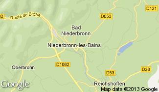 Plan de Niederbronn-les-Bains