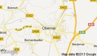Plan de Obernai