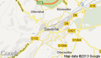 Plan de Saverne
