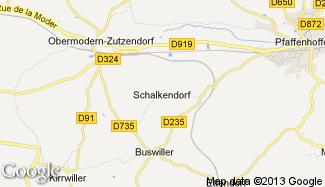 Plan de Schalkendorf