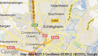 Plan de Schiltigheim