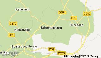 Plan de Schoenenbourg