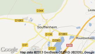 Plan de Soufflenheim
