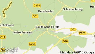 Plan de Soultz-sous-Forêts