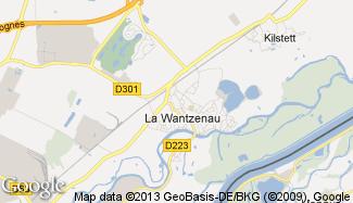 Plan de La Wantzenau