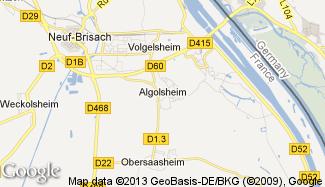 Plan de Algolsheim