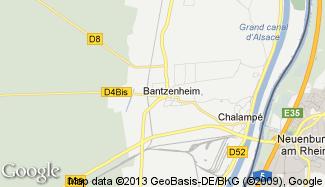 Plan de Bantzenheim