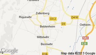 Plan de Beblenheim
