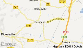 Plan de Bergheim