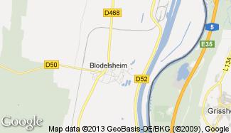 Plan de Blodelsheim