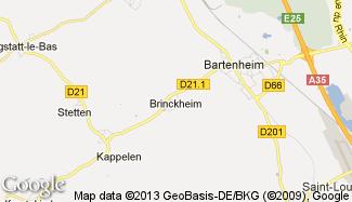 Plan de Brinckheim