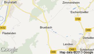 Plan de Bruebach
