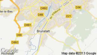 Plan de Brunstatt