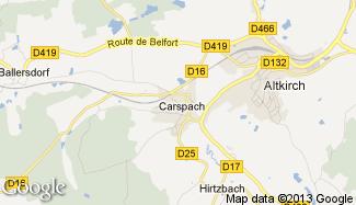 Plan de Carspach