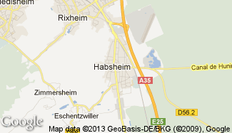 Plan de Habsheim
