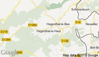 Plan de Hagenthal-le-Haut