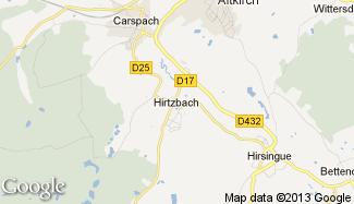 Plan de Hirtzbach