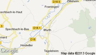 Plan de Illfurth