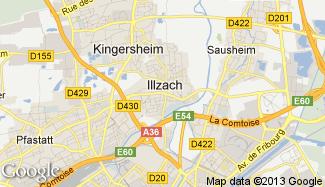 Plan de Illzach