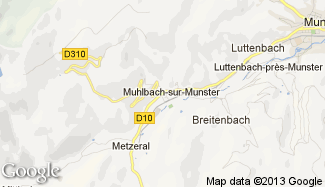 Plan de Muhlbach-sur-Munster