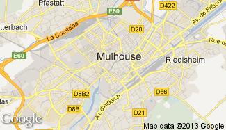 Plan de Mulhouse