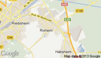 Plan de Rixheim