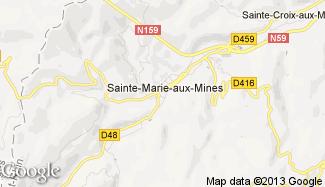Plan de Sainte-Marie-aux-Mines