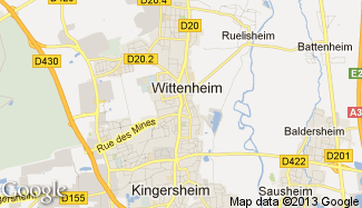 Plan de Wittenheim