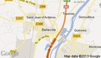 Plan de Belleville