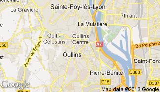 Plan de Oullins