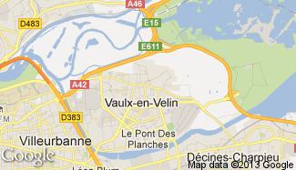Plan de Vaulx-en-Velin