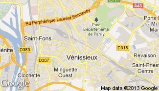 Plan de Vénissieux